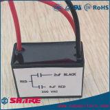 Condensador del ventilador del condensador de corrida del motor de CA Cbb61