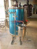 La operación es esterilizador instantáneo de la Ultra-Temperatura simple