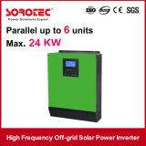 1000 - inverseur du hors fonction-Réseau 5000va d'énergie solaire hybride de C.C/à C.A. avec le contrôleur solaire de charge de PWM