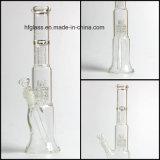Hfyガラス標準的ですばらしい機能のマトリックスPerc Percolatersが付いている配水管の管を煙らすGlassworks 13インチのMobiusの