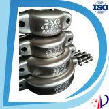 Enveloppe de la femelle BSPT Btc de Bsp d'acier inoxydable et cannelure et couplage pour la pipe