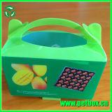 Caixa de presente pequena da fantasia plástica da exposição dos doces da embalagem