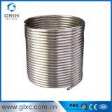 La recherche du fournisseur 409L de la Chine a soudé le tube de pipe de bobine d'acier inoxydable Od12.7mm x Wt1.5mm pour l'échangeur de chaleur