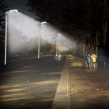 Lampe solaire de jardin extérieur de DEL pour l'éclairage de voie avec la FCC de la CE