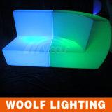 Sofá iluminado solo sofá del jardín LED del LED