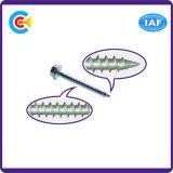 탄소 강철 4.8/8.8/10.9 Self-Tapping 나사를 가진 직류 전기를 통한 배열된 육각형 소켓