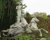 Scultura di marmo di scultura di pietra di marmo del granito della condizione/del vagone per il trasporto dei lingotti