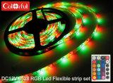 まめのパッキングDC12V RGB SMD3528 LEDストリップ