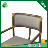 Cadeira francesa da sala de estar do estilo para o banheiro na faia (ZSC-42)