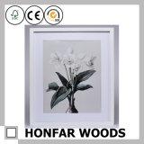 Frame de madeira da pintura do frame decorativo branco grande do tamanho
