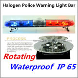 Halogen-Blitz-Warnleuchten-Stab 1200mm der Polizei-LED IP 67