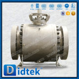 Didtek API 6Dの火安全なデザインクラス900のフランジを付けたようになった端の球弁