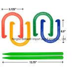 Ferri di cavallo esterni della plastica del gioco di scossa di scossa di plastica dell'anello