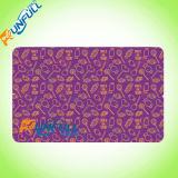 Cmyk 4/4 de cartão magnético relativo à promoção plástico do presente do PVC da qualidade de Printedhigh das cores