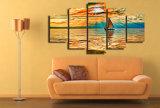 HD imprimió la lona Mc-028 del cuadro del cartel de la impresión de la decoración del taller de impresión de la lona de pintura de Nebo Oblaka Luchi Ozero