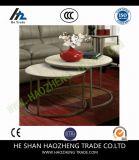 Hzct047スマートな円形の大理石の上のコーヒーテーブル