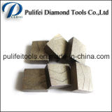 O cortador de diamante utiliza ferramentas o segmento da estaca do granito para a máquina de estaca de pedra