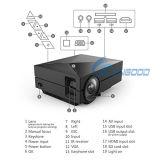 Mejor proyector casero barato portable del móvil LED de la película 1000lm HDMI del USB 800*480 pequeño