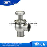 Válvula de desvio de controle manual de fluxo de aço de aço inoxidável