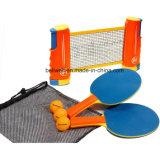 携帯用および引き込み式の卓球セット