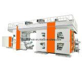 Tipo de alta velocidade máquina do Ci da película da etiqueta de Multicolors de impressão de Flexo