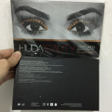 De Make-up HUDA van het Palet van de oogschaduw nam Gouden Geweven 18 Kleuren toe