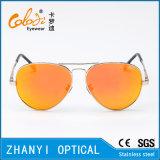 Óculos de sol coloridos do metal da forma para conduzir com Lense Polaroid (3025-C4)