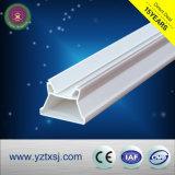 Materiale spaccato del PVC dell'alloggiamento del tubo di T8 LED