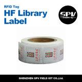 Passiver HF-Bibliotheks-Aufkleber für Sicherheits-Management
