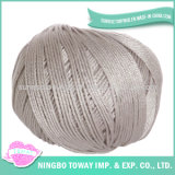 Prezzo organico all'ingrosso tinto del filo di cotone egiziano 100 del filo di cotone