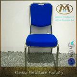 熱い販売の金属のクロム使用される青い宴会の椅子