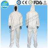 impermeable, a prueba de polvo y anti - estática sobretodo no tejida