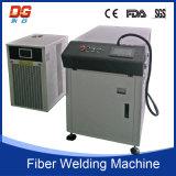 Máquina de soldadura de fibra óptica do laser da transmissão do CNC 400W