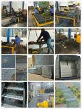 Op zwaar werk berekende staalgrating voor plankendek in het pakhuis van autodelen