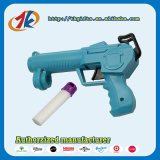 柔らかい弾丸が付いているプラスチック空気射撃銃のおもちゃ