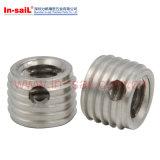 アルミニウムのステンレス鋼の糸の挿入