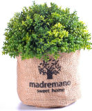 معمل مختلف اصطناعيّة (كرز نباح/زعتر/[روسمري] [إتك]) في نبات كتّان حقيبة لأنّ [إيندوور&ووتدوور] زخرفة