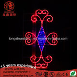 Outdoor LED 220V Waterproof Motif Street Fairy Lighting para o Natal
