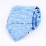 Les hommes classiques multicolores attache des affaires fabriquées à la main de professionnel de cravates de la cravate 8 cm de polyester tissées par jacquard 100%