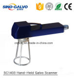 Scanner tenuto in mano portatile di Galvo Sc1403 per il sistema della marcatura del laser