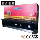 Machine de tonte hydraulique, machine de découpage en acier, machine de tonte QC12k-10*6000 de commande numérique par ordinateur