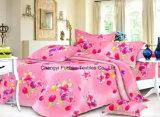 多印刷されたパターンかFitted Bedspread Patchwork Bedding綿王のセット