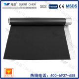 Suelo de bambú de la espuma negra de EVA sido la base con la película azul