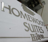corporate Building Company 스테인리스 알루미늄 아크릴 S3d에 의하여 분명히된 주문 로고는 평지 커트 편지 표시를 서명한다