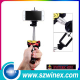 Wireless Selfie Stick с складным держателем  Bluetooth Shutter Кнопка