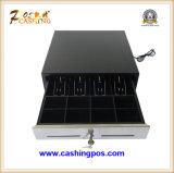 Les 410 caisses comptables/tiroirs/cadres populaires avec l'argent comptant de haute qualité d'ABS des prix raisonnables labourent