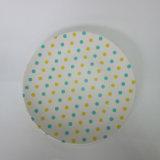 Bambusfaser-runde grosse Platten-Paisley-Entwurfs-Tisch-Ware-Abendessen-Waren