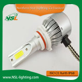 Linterna auto de C6-9005 9006 H7 LED para el coche de la motocicleta