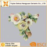 인공 꽃 로즈 Handmade 사기그릇 꽃