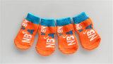 スポーツペットアクセサリの反スキッドの足の印刷犬の編むソックス